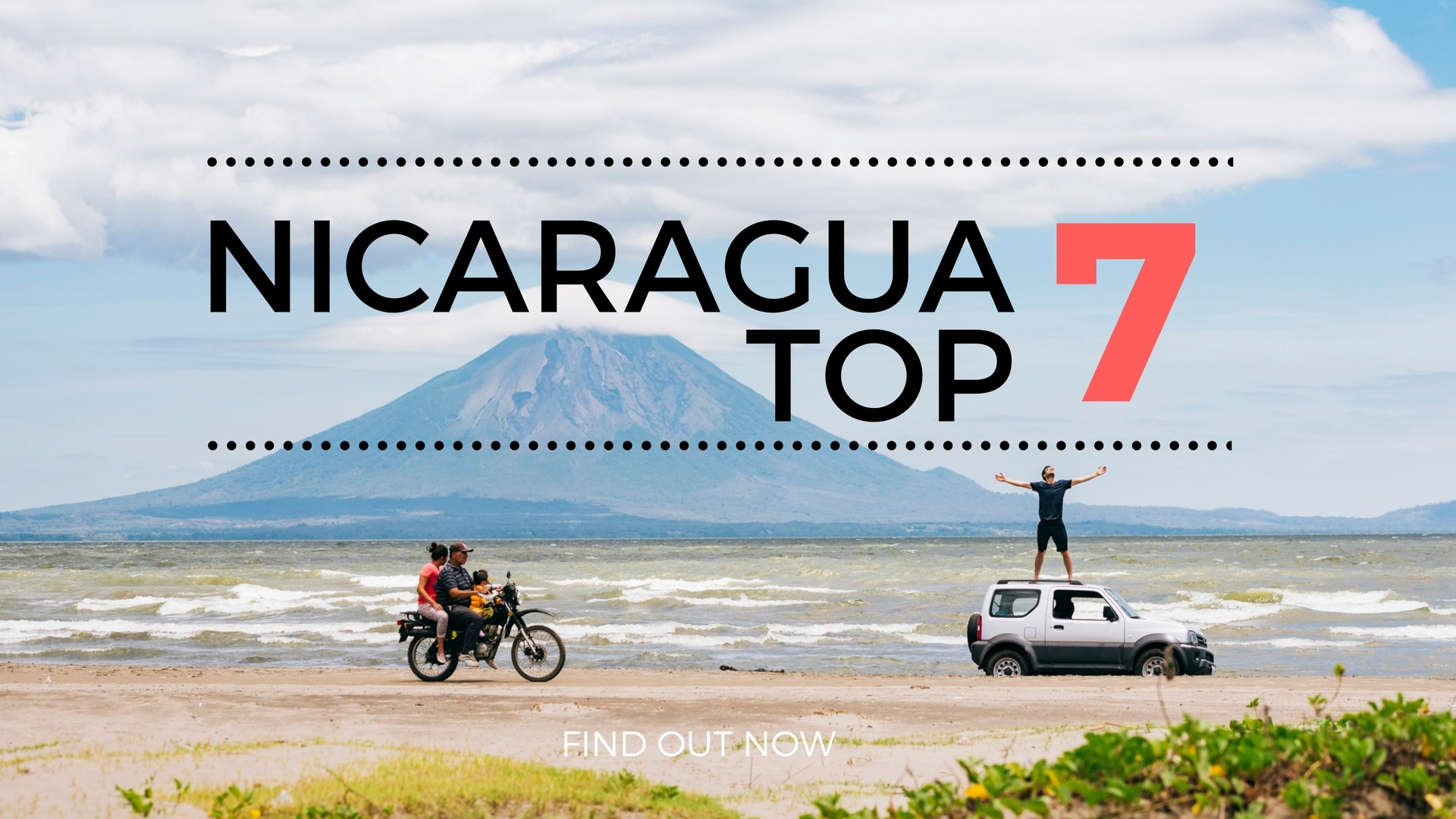 Nicaragua: Best Places to Visit (#5 has real LAVA!)