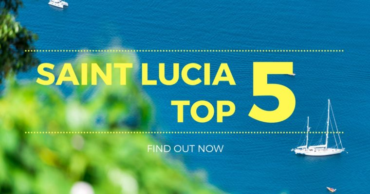 Top 5 Things To Do in Saint Lucia (#3 is her favorite)