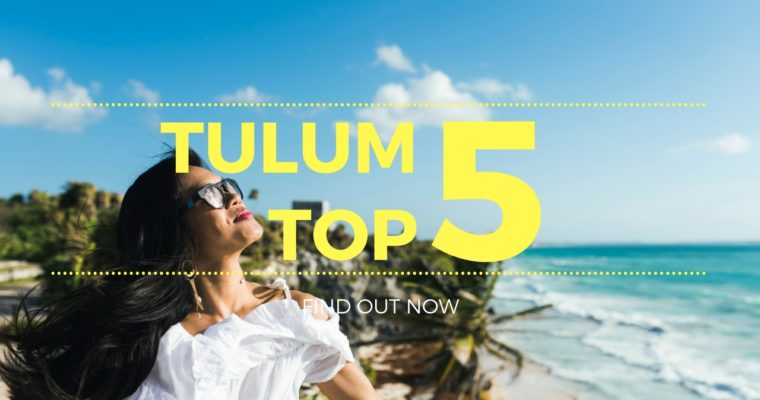 Top 5 Things to do in Tulum, Mexico (#2 is incredible!)