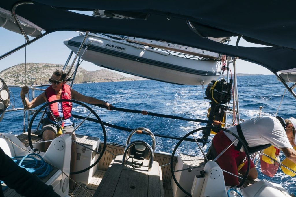 sailing greece dufour