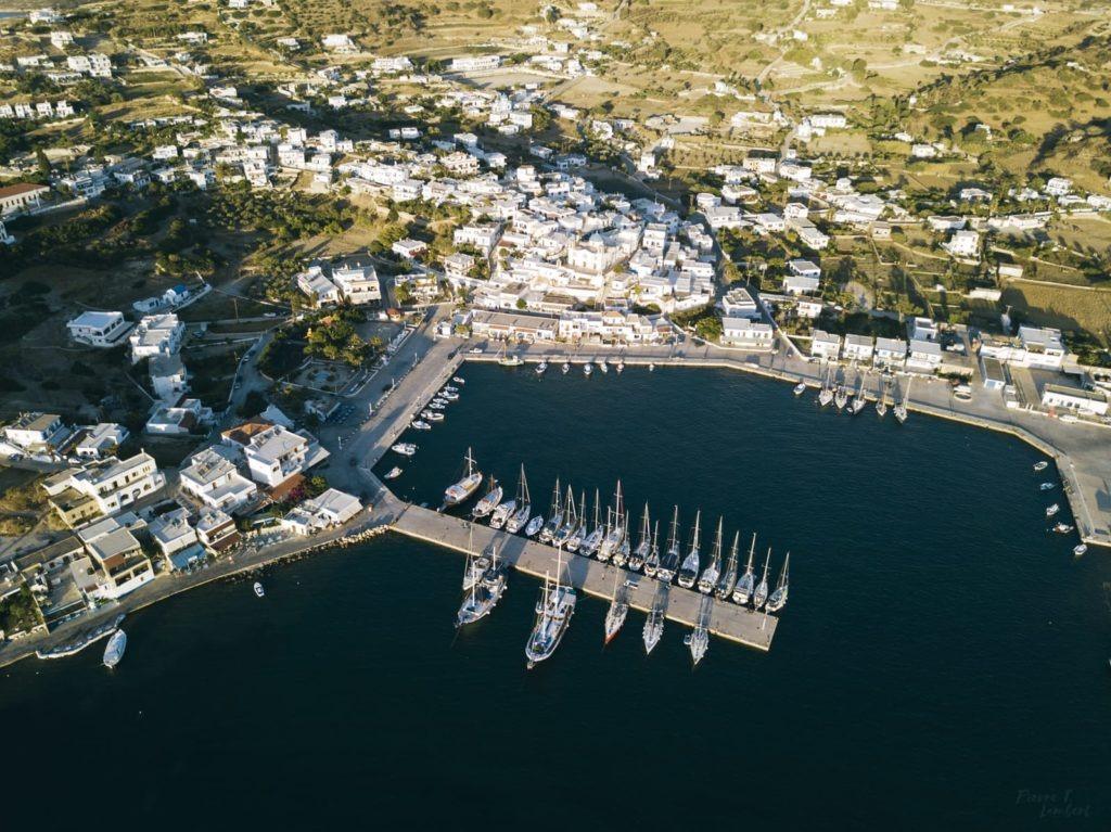 lipsi greece aerial