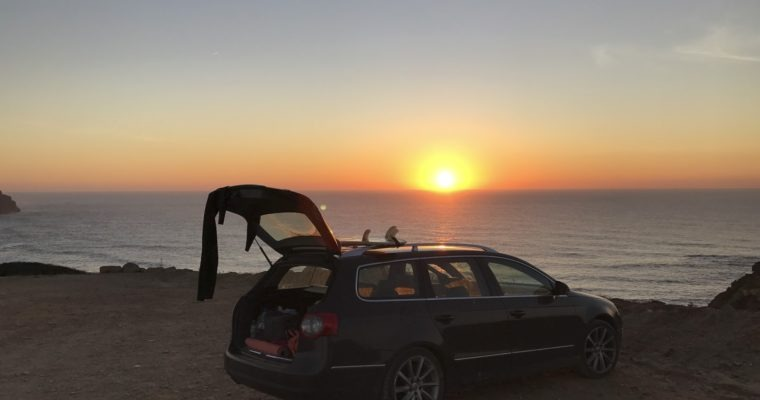 Week #7 – Free Camping in Portugal – Sleeping in Your Car