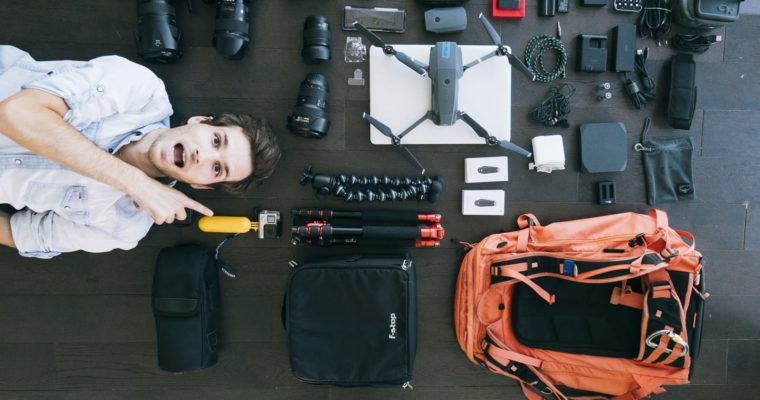 Best Camera Travel Gear For Our World Tour 2017-2018
