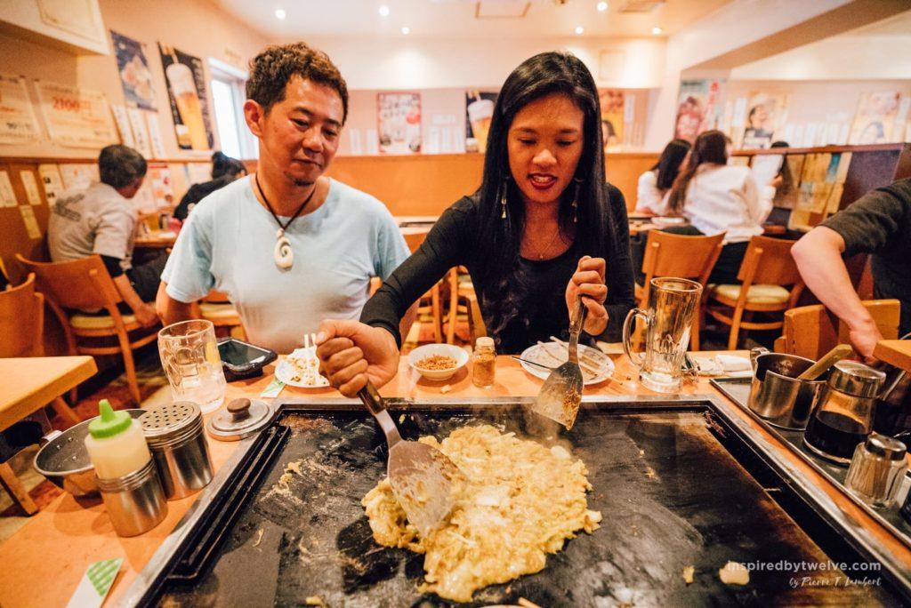 okonomiyaki tokyo, tokyo food guide, japan food guide, tokyo restaurants, best food in tokyo, best okonomiyaki tokyo