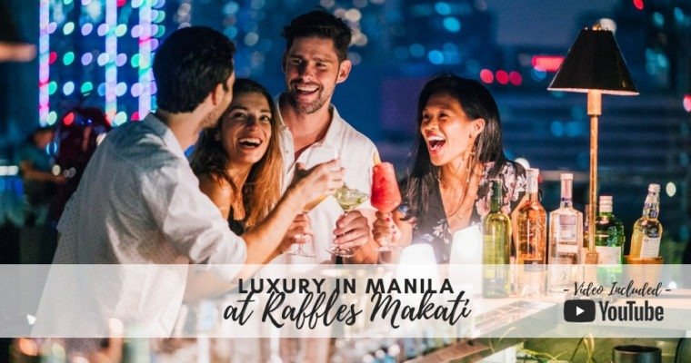 Luxury Dining in Manila at Raffles Makati