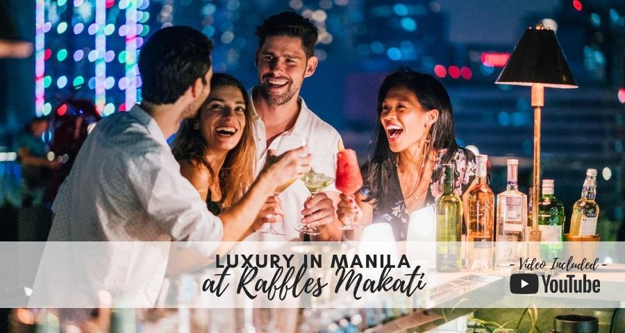 Luxury Dining in Manila at Raffles Makati