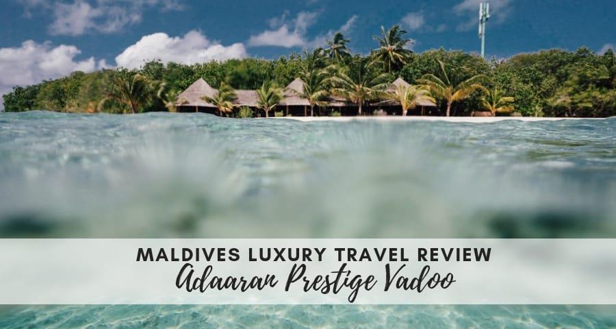 Adaaran Prestige Vadoo – Luxury in the Maldives